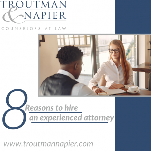 8 reasons to hire an experienced attorney
