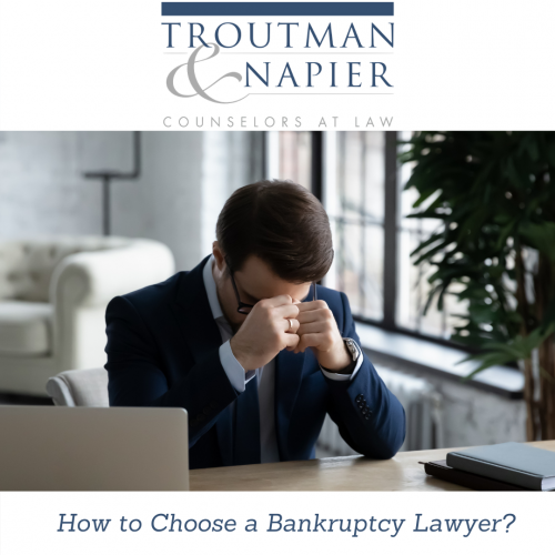 How to Choose a Bankruptcy Lawyer