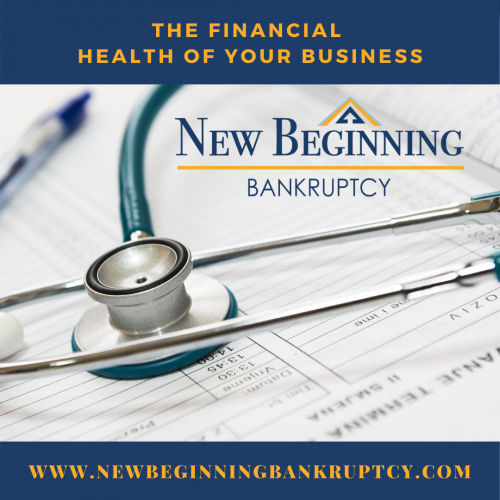 The financial health of your business